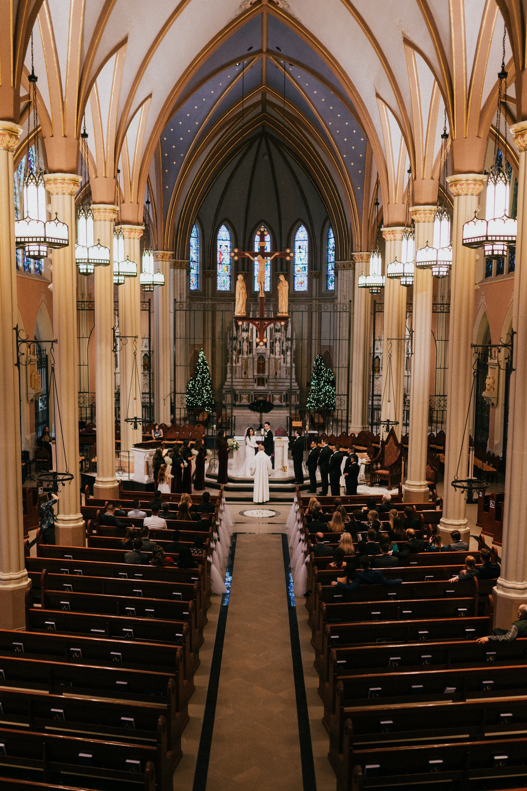 omaha wedding at st john's parish