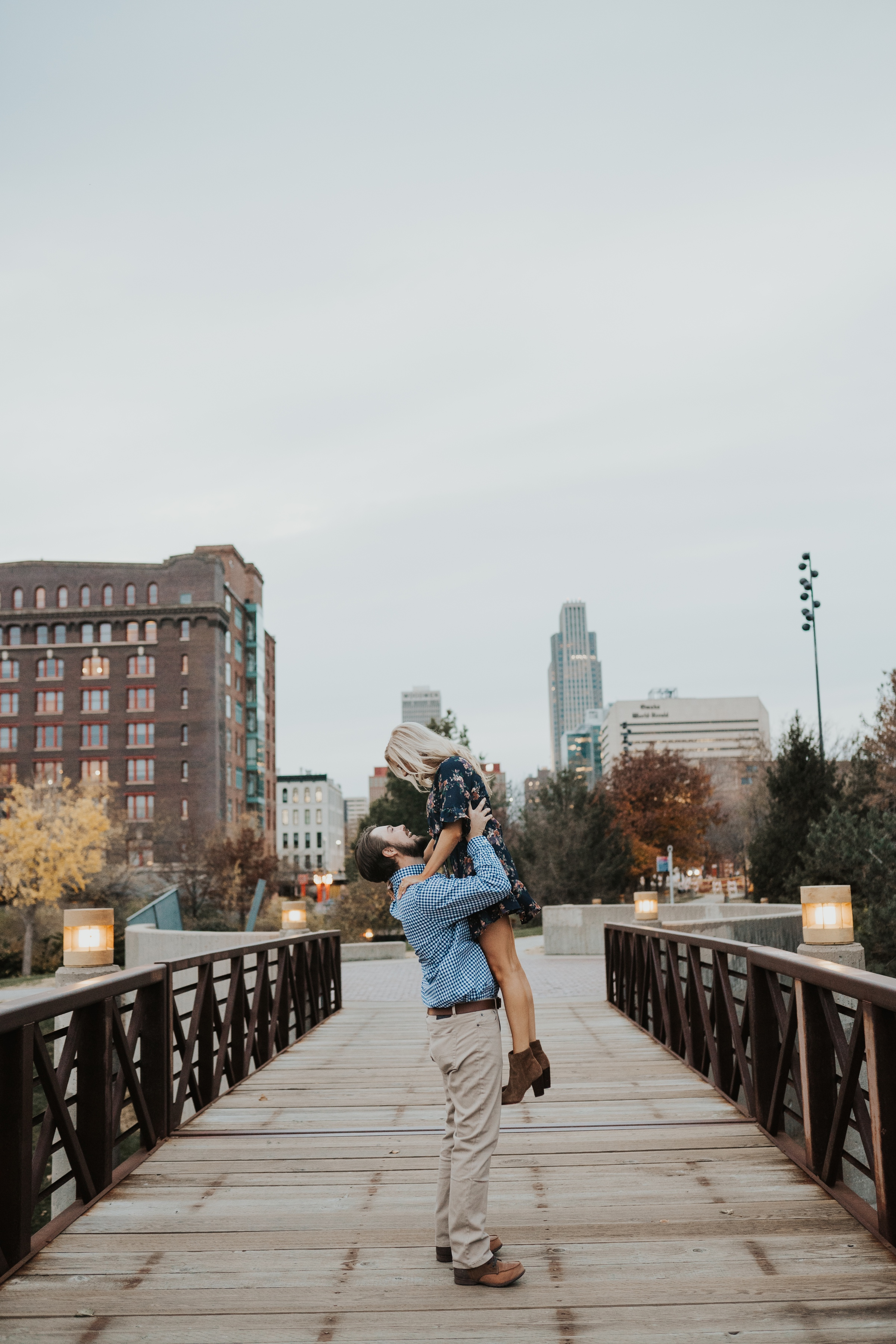engagement photos in the old market