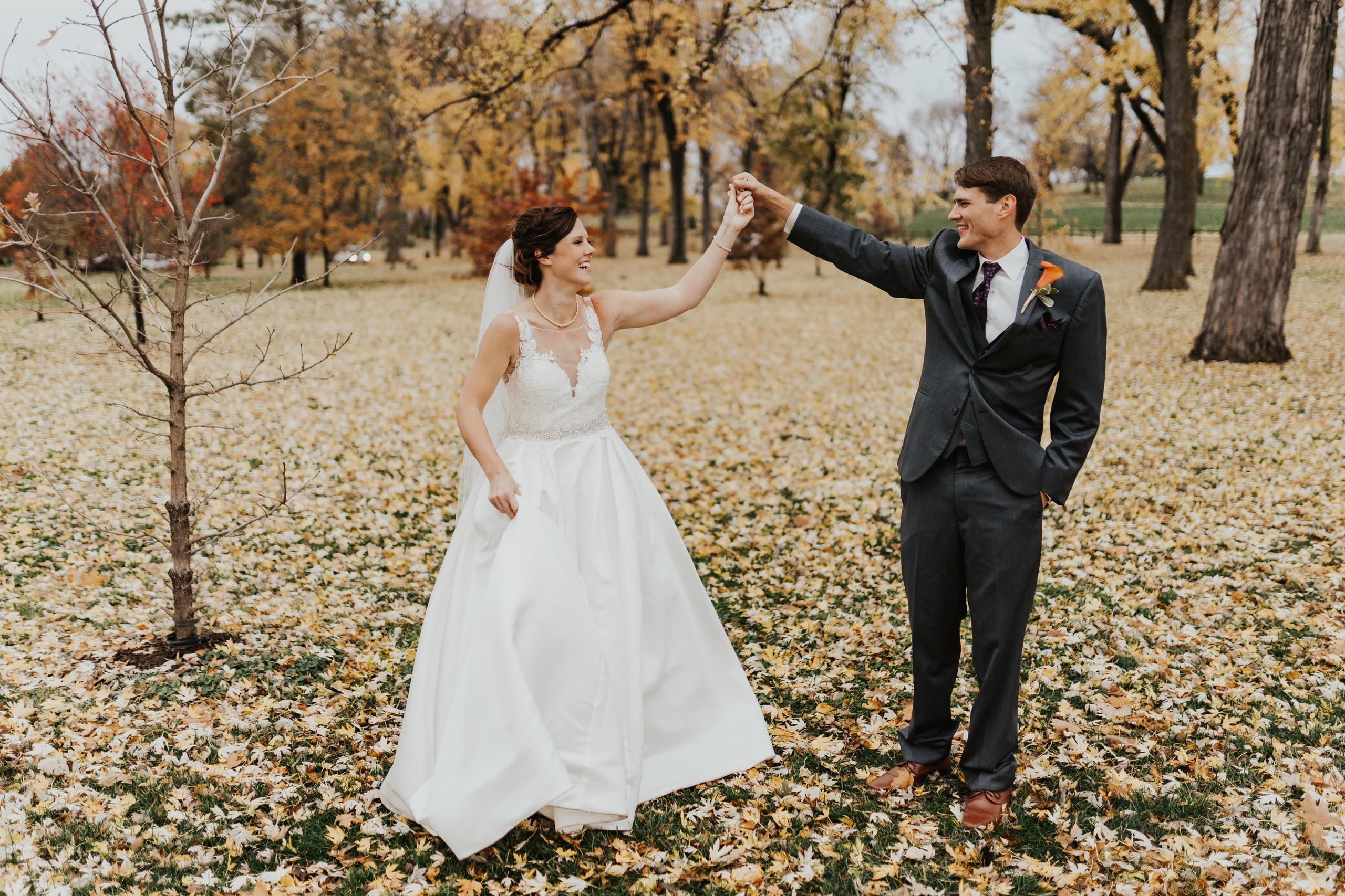 wedding photos at elmwood park