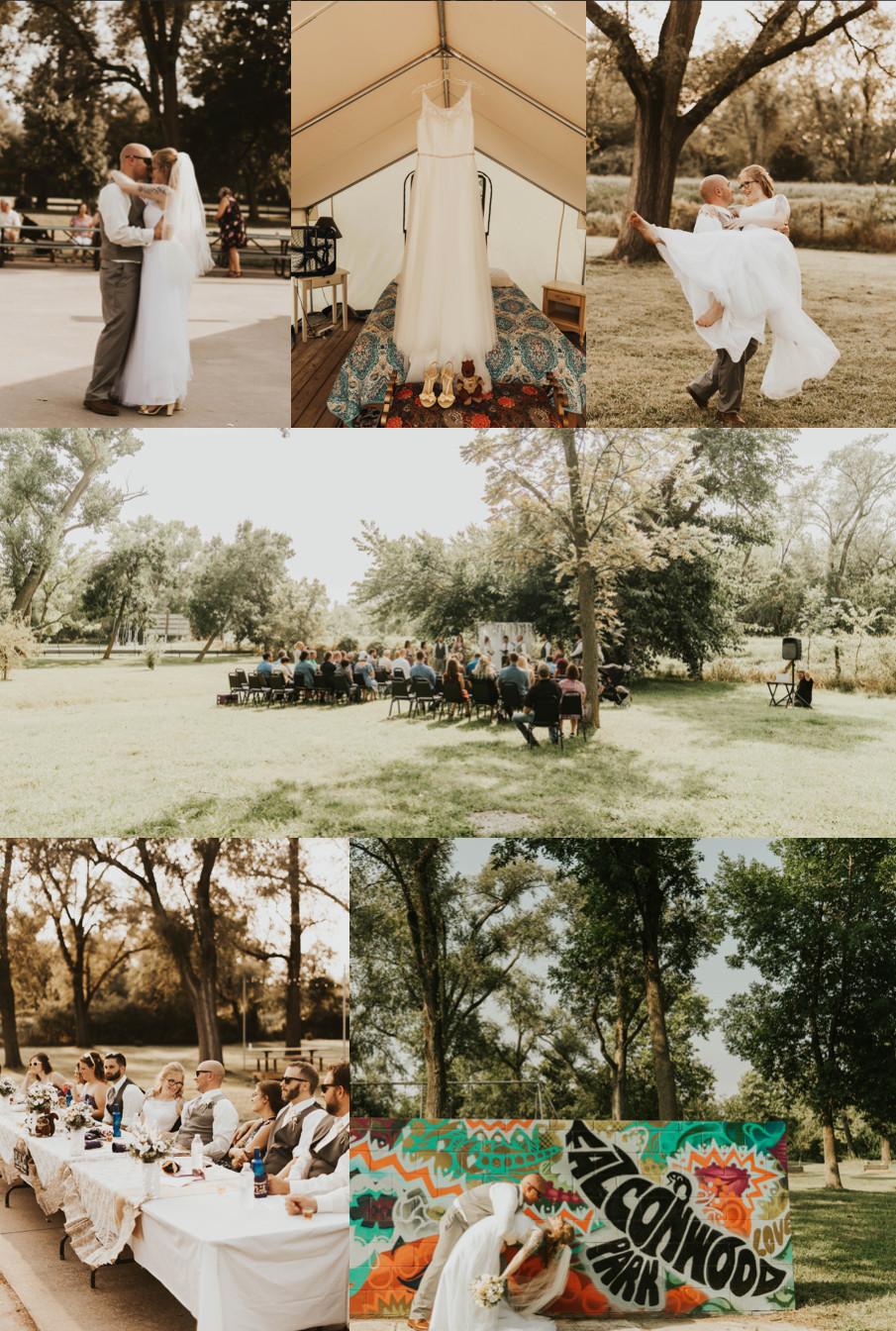 Best Wedding Venues in Omaha Falconwood Park