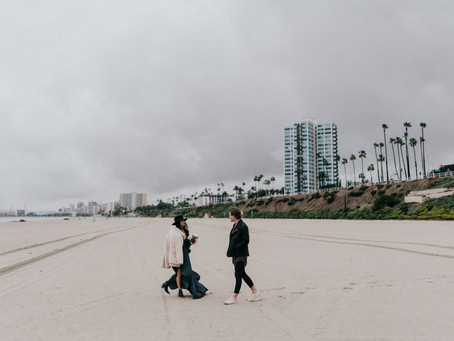 MOODY BEACH ENGAGEMENT SESSION