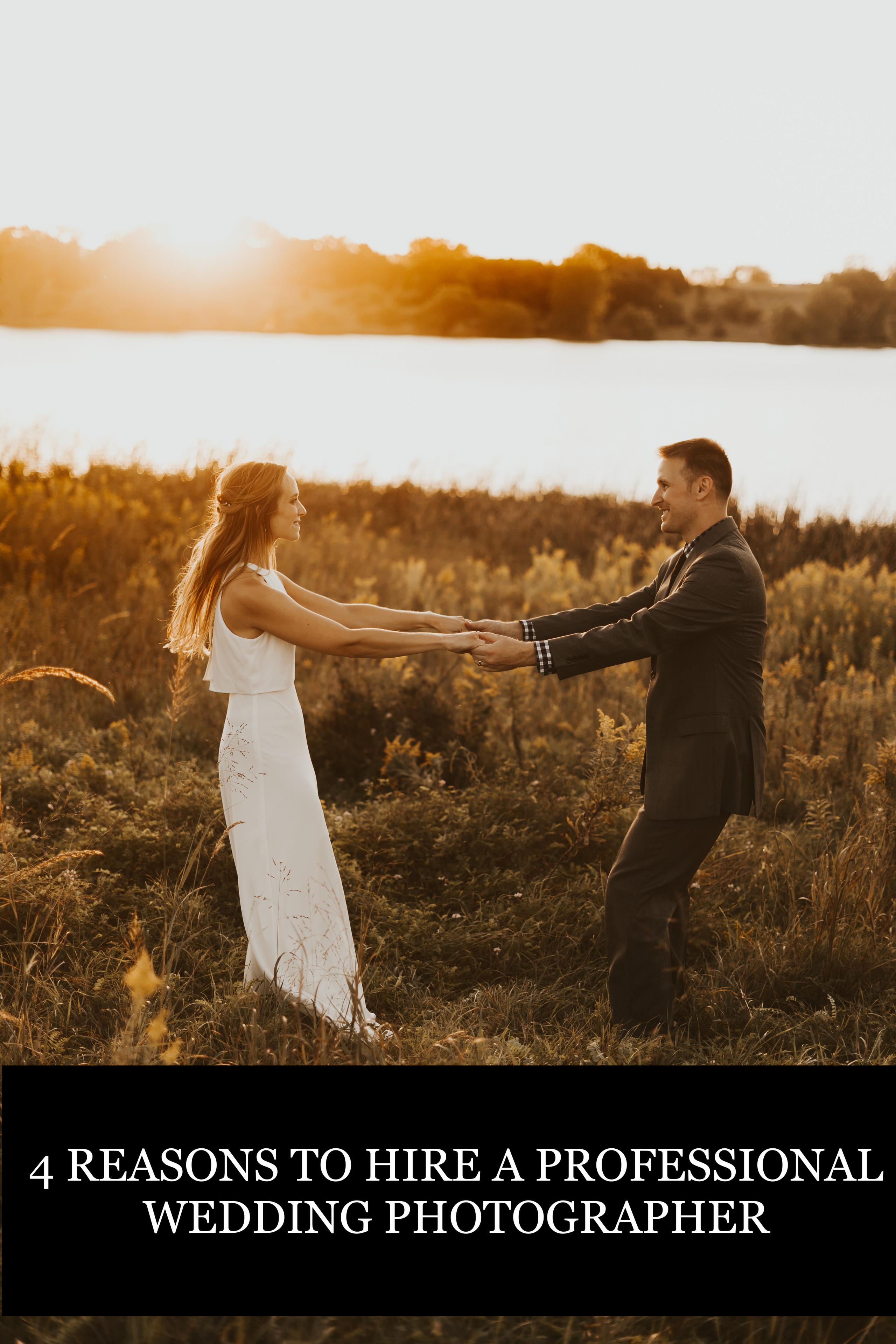 should I hire a professional wedding photographer