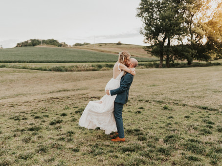 Wedding Photography At The Palace Event Center In Treynor, Iowa