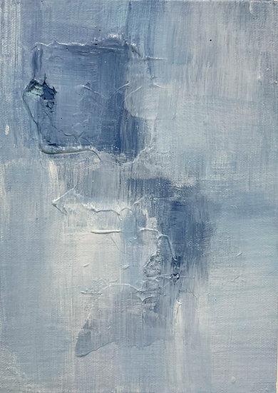 Mini Abstract - Blue I