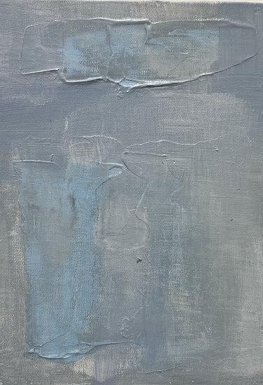 Mini Abstract - Blue III