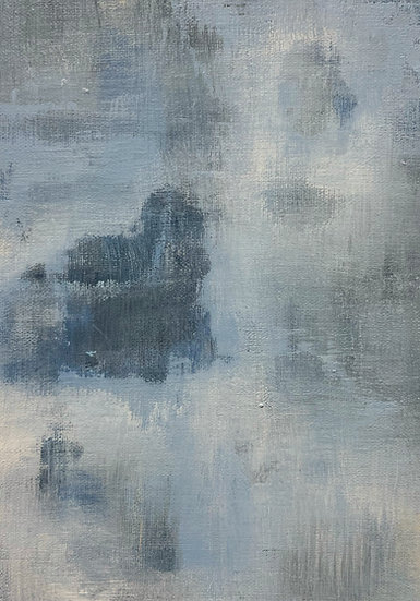 Mini Abstract - Blue VI