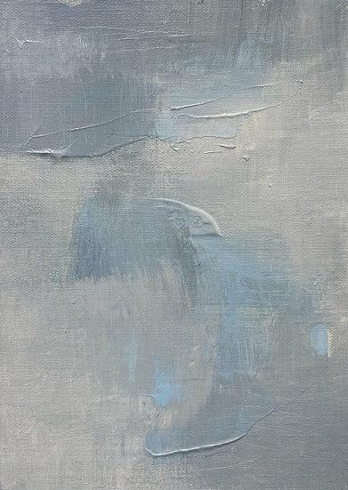 Mini Abstract - Blue IV