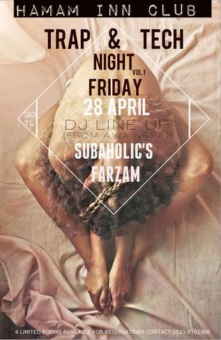 28th April @Hamam INN