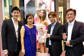 Action Hair Salon Launching Dita Von  Teese-Cointreauversial Bar