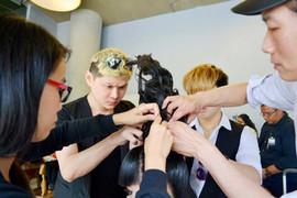 Action Hair Salon - 2014 JSpring Fashion Show