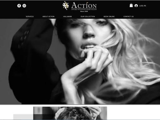 Action Hair Salon New Website
