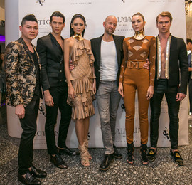 Balmain Hair Couture Launching X Action Hair Salon Singapore