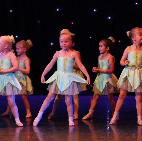 Tinkerbell Ballet Class