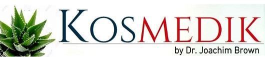 Kosmedik Skin Care Products by Dr Joachim Brown Logo