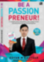 Buku Be A Passionpreneur Edvan M Kautsar Motivator Indonesia