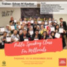 Public Speaking For Millenials II Padang