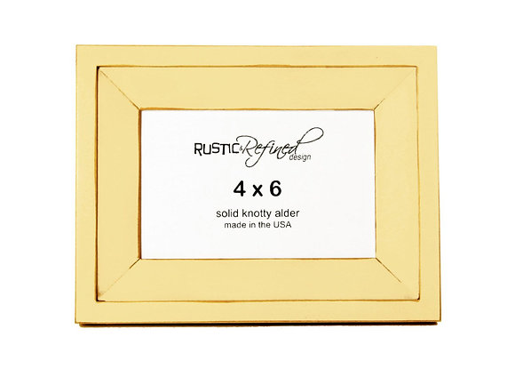 4x6 Haven Picture Frame - Daffodil