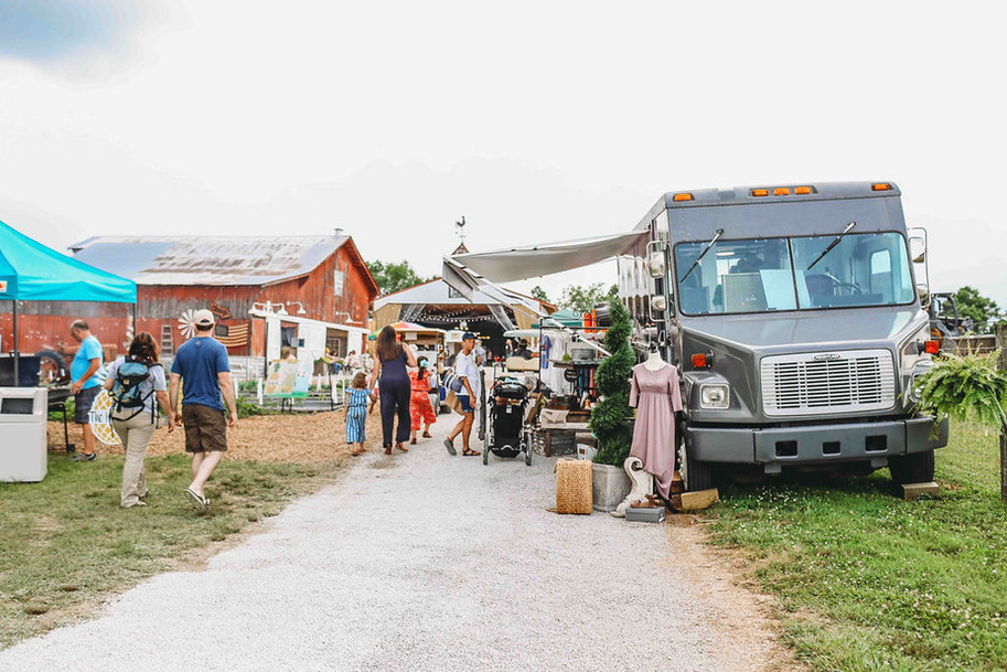 A glimpse at the event; A Southern Marketplace Barn Sale
