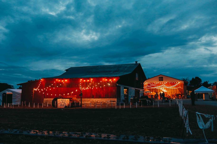 A Southern Marketplace Barn Sale at Night~