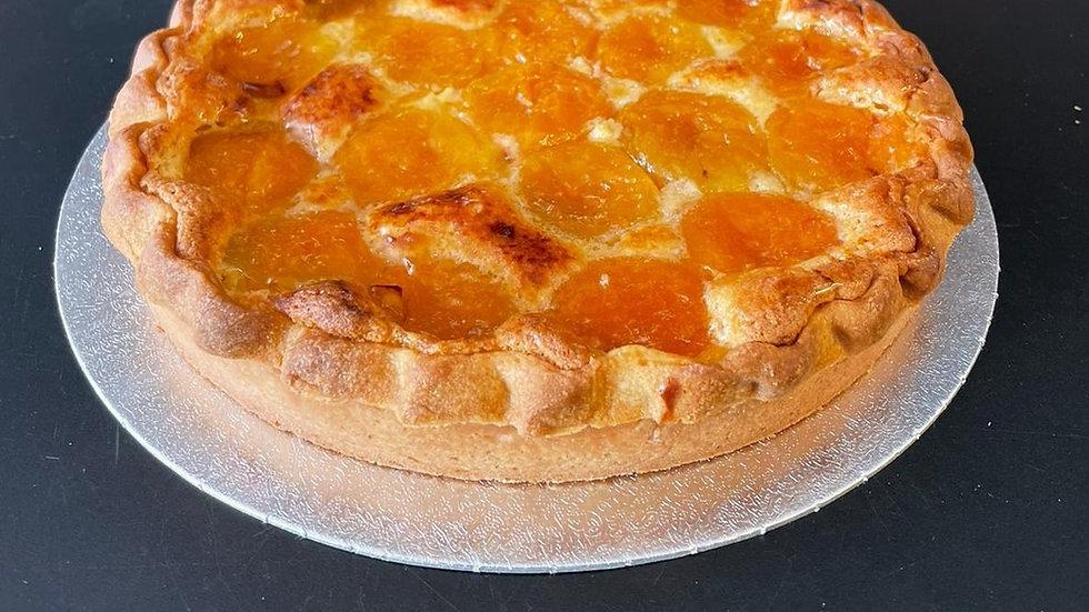 Apricot Frangipane Tart (serves 6-8)