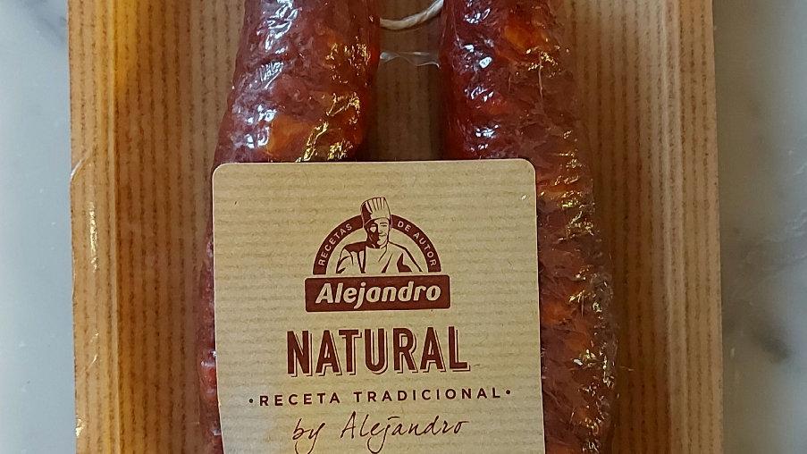 Chorizo Hoop - semi-cured (200g)