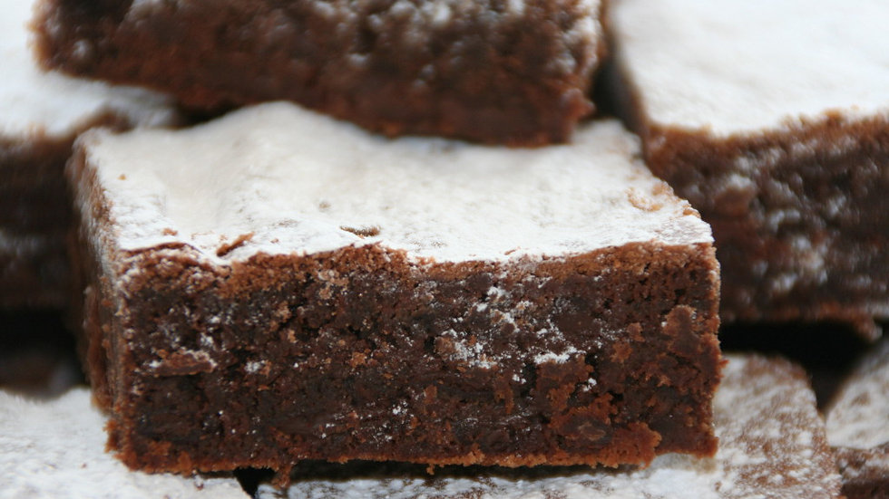 Double chocolate brownies (pack of 3)