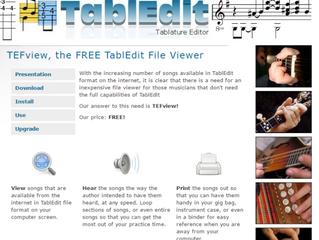 TablEdit Workshop