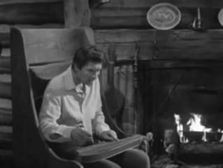 Fess Parker - dulcimer and Daniel Boone