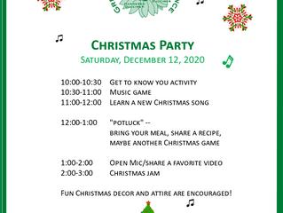 GPDA CHRISTMAS PARTY!!!