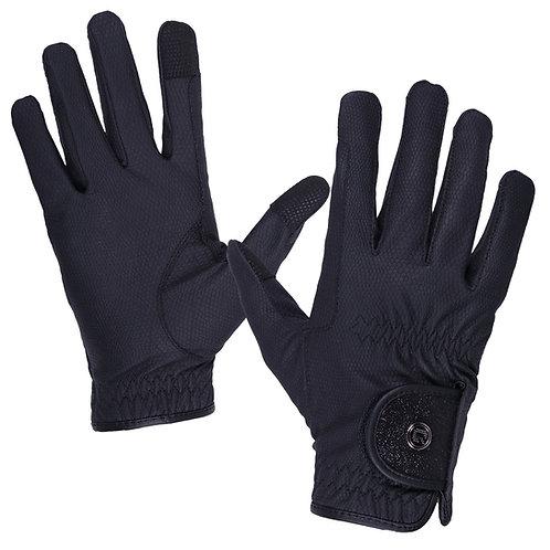 Glitz, handskar med glitter, polyurethane