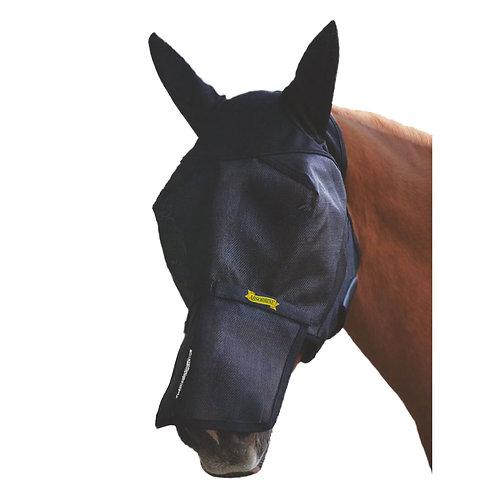 Ultrashield, flughuva med avtagbart nosskydd