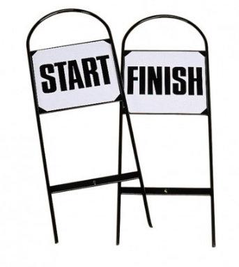 Stubbs, start & mål