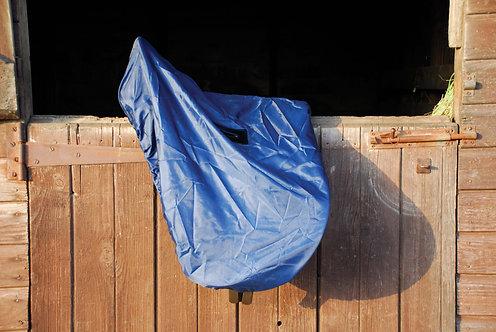 Sadelöverdrag, marinblå