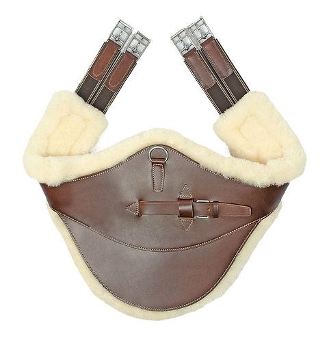 Equestro, sadelgjord med avtagbart fårskinn