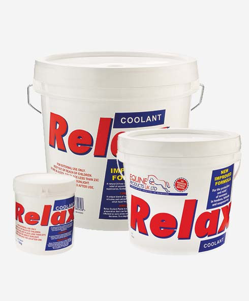 Equine Products, Relax Coolant, kyllera