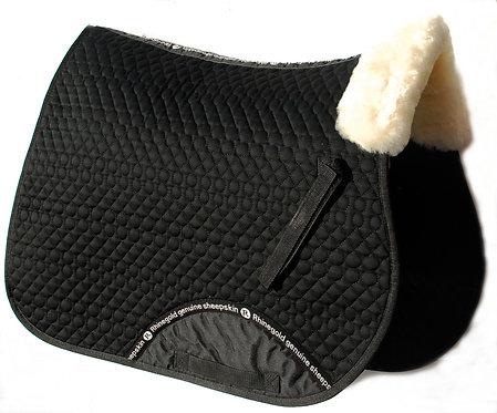 Schabrak med fårskinn