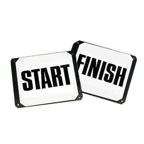 Stubbs, start & mål, skruvade