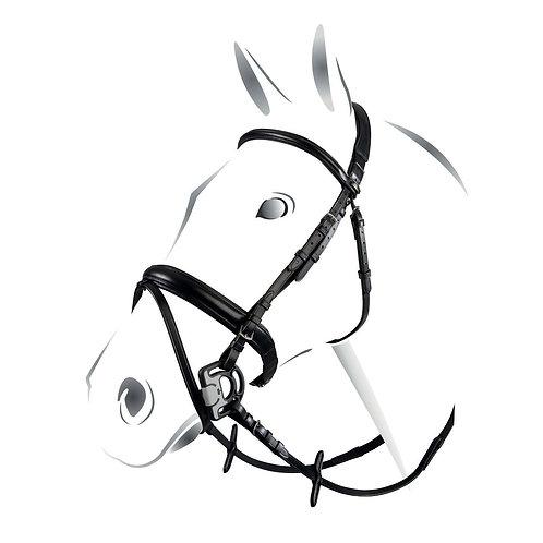 Equestro Classic, aachenträns, inkl. tyglar