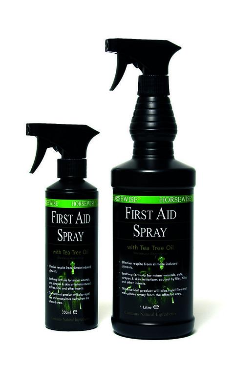 Första hjälpen-spray, hästvård