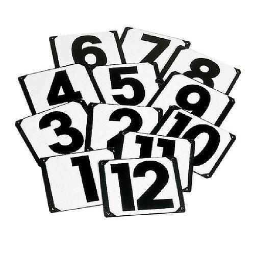 Stubbs, siffror till ridbana, skruvade