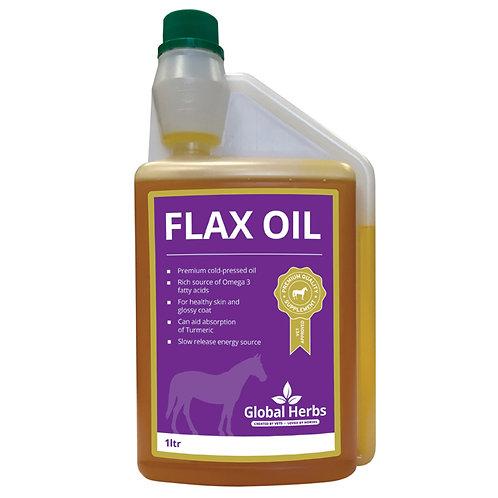 Global Herbs, FlaxOil, kallpressad linolja