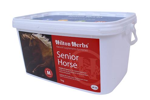 Tillskott, senior horse, hilton herbs, hästtillskott
