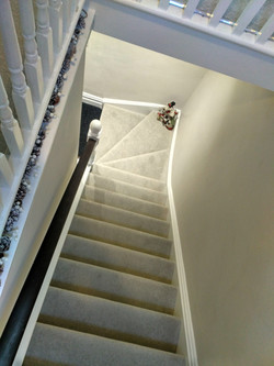 Apartment entrance stairs