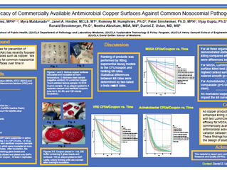 IDWeek 2013 antimicrobial copper