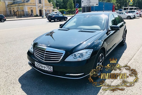 Аренда Mercedes S w221 Long