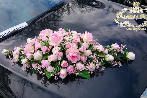 Аренда дизайнерских свадебных украшений авто