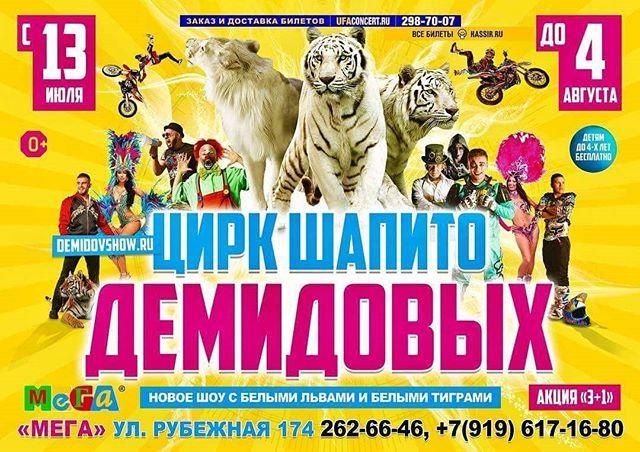 Цирк Демидовых в Уфе!!! _demidovshow_