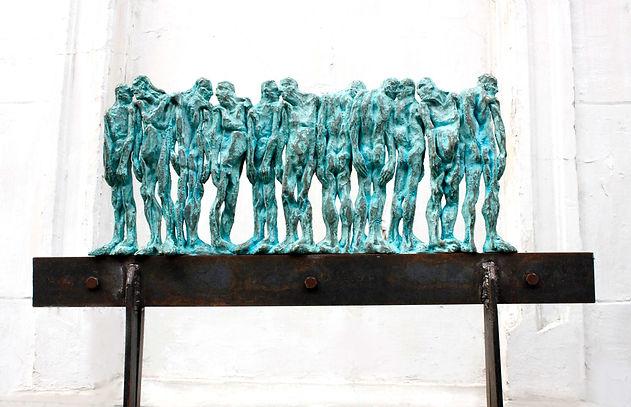 Catalin Badarau, ,,The line,, Sculptura,