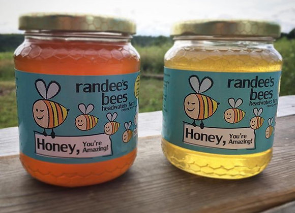 500G unpasteurized honey