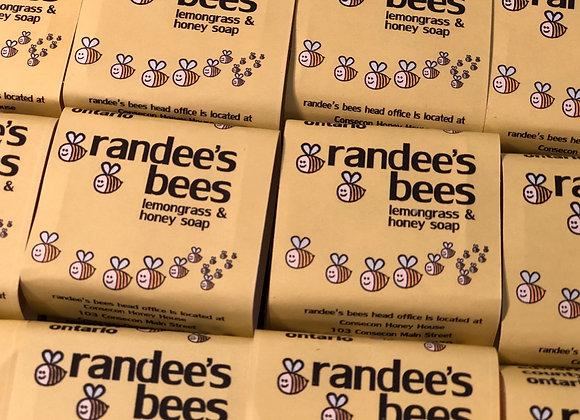 randee's bees lemongrass & honey hotel sized soap